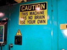 No brain, by Pierre-Olivier Carles