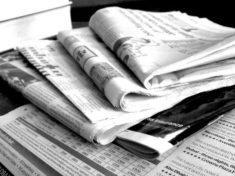 Newspapers B&W